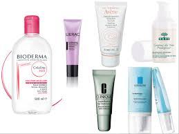les produits de soin du visage