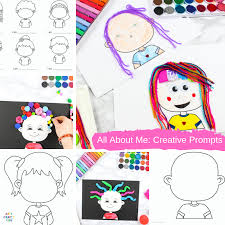 4) learning colour worksheets are a great source of colour recognition. All About Me Drawing Activity For Kids Arty Crafty Kids