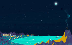 google now wallpaper 1920x1080. Plain Wallpaper Google Now Beach Night Wallpaper On 1920x1080