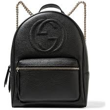 gucci bags backpack. gucci soho textured-leather backpack ($1,435) ❤ liked on polyvore featuring bags t