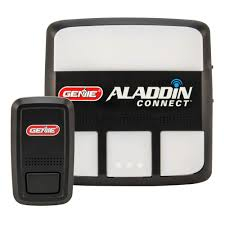genie aladdin connect smartphone enabled garage door controller to open and monitor your door from anywhere alkt1 r the home depot