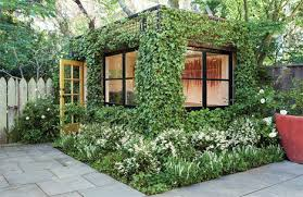 building a home office. building a home office lush ivycovered is living backyard