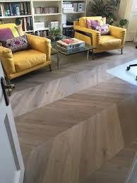 engineered oak chevron parquet flooring blocks installation and preparation work united united states