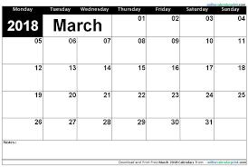 blank march calendar 2018 march 2018 blank calendar