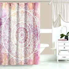 rose pink shower curtain pink shower curtains here to enlarge pink rose shower curtain hooks