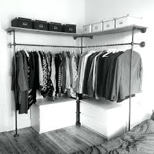 wardrobe ideas the best pipe closet ideas on industrial closet incredible open wardrobe ideas wardrobe door ideas