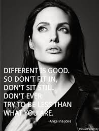 Angelina Jolie Quote | Visual Therapy | Thought Of The Day | Pinterest