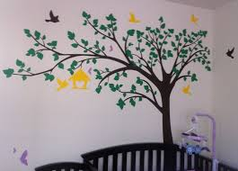 nursery pop decors wall decor popdecors big tree with love birds 100