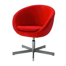 ikea red office chair. Ikea Skruvsta Red Swivel Chair, Great Office Chair I