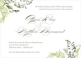 Invitation Free Download Gorgeous Invitation Download Template Free