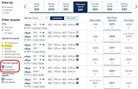 United Mileage Upgrade Chart Ten Things To Know About United