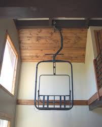 i love the idea of this old ski chair lift intended for designs 16