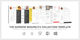 Resume And Cv Template For Office 2010 Cover Letter Templates