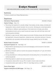 Geico Senior Sales Agent Resume Sample - Santee California | Resumehelp