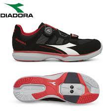 Details About Diadora Gym Mens Spd Cycling Shoes Black Red Size Eur 43