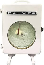 Palmer Circular Chart Recorder