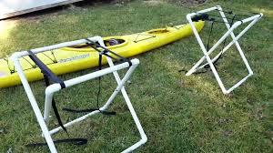 outdoor kayak storage rack how to build a kayak rack out of wood kayak rack garage