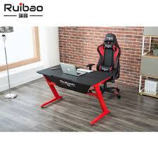 gaming computer desk. Exellent Desk China Highquality Waterproof PU Leather Gaming PC Computer Desk New  Design To Desk M