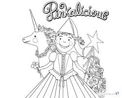 Pinkalicious Coloring Pages Free Incredible Coloring Pages With