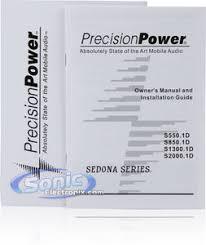 precision power ppi s850 1d sedona 850w class d monoblock amplifier product precision power ppi s850 1d