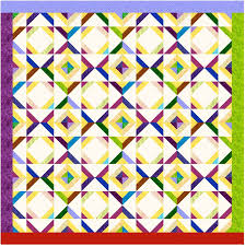 Block ideas using 2-1/2 inch strips & Click on the block for an EQ representation of a full quilt made using this  block Adamdwight.com