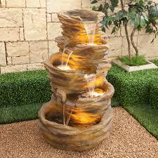 Indoor Rock Garden Outdoor Lowes Tiki Fountain Indoor Water Fountains Lowes