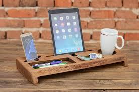 wooden office storage. interesting office wooden desk organizer office organizer phone station solid wood iphone  holder accessories storage gift for him intended storage r