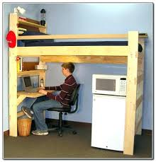 loft bed with desk and dresser bunk under combo wooden