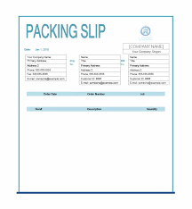 contoh purchase order word 30 free packing slip templates word excel template archive