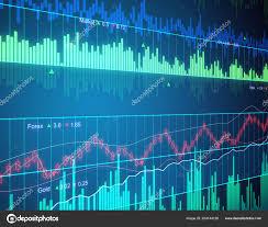 Chart Screen Financial Chart Screen Graphs Candle Sticks Rendering