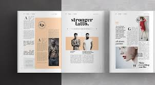 Indesign Magazine Adobe Indesign Magazine Template From Alfianbrand