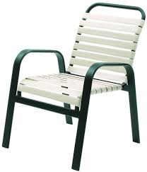 picture of commercial strap dining chair maya stacking outdoor patio furniture model 940s