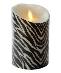 look at this zebra 5 flameless led candle by luminara candles us