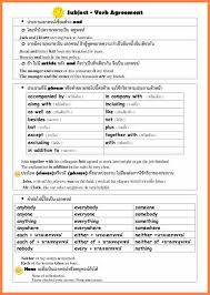 6+ worksheets on subject verb agreement with answers | Purchase ...