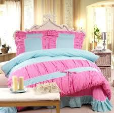 home improvement wilson pink and blue comforter girls princess lace bedding purple orange com