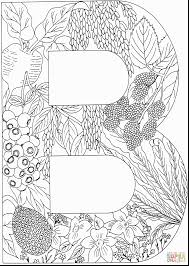 Small Picture unbelievable black and white coloring page letters with letter b