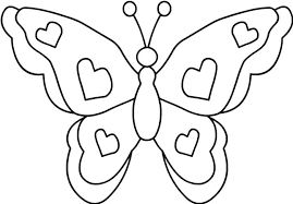 Printable Butterfly Coloring Pages Colouring Online Easy Color