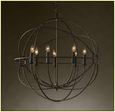 orb chandelier canada