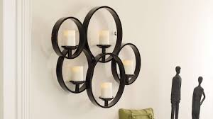 candle sconces wall decor ornament choicewall holder metal sconce crystal effect lights electrical wire covers storage