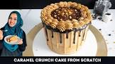 caramel crunch coffee cake