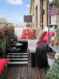 outdoor furniture small balcony. patio small balcony furniture side table with round shape made of metal and outdoor c