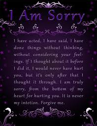 apology card say templates photo free printable apology cards picture