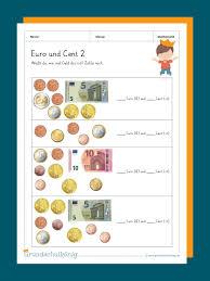Sie können das folgende spielgeld gemeinsam mit ihren kindern ausdrucken. Euro Und Cent
