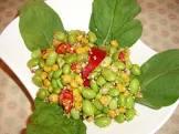 asian style edamame and corn