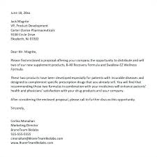 Business Proposal Letter Sample Sales Example Product