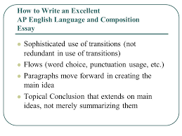 how to write composition essay how to write an excellent ap english language and composition essay