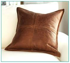 leather accent pillows black leather throw pillow doubtful accent pillows red leather decorative pillows