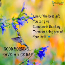 Awesome Good Morning Quotes
