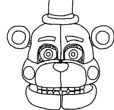 Coloring Pages 3 Sister Location Fnaf 2 Five Nights At Freddys
