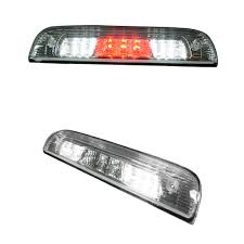 Recon Truck Accessories Red 3rd Brake Light Kit W White Cargo Lights Smoked Lens Ford F150 04 08